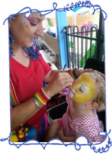 Darwin Face Painting